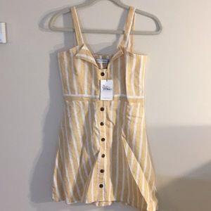 Faithfull The Brand Le Petite Dress Mazur Stripe